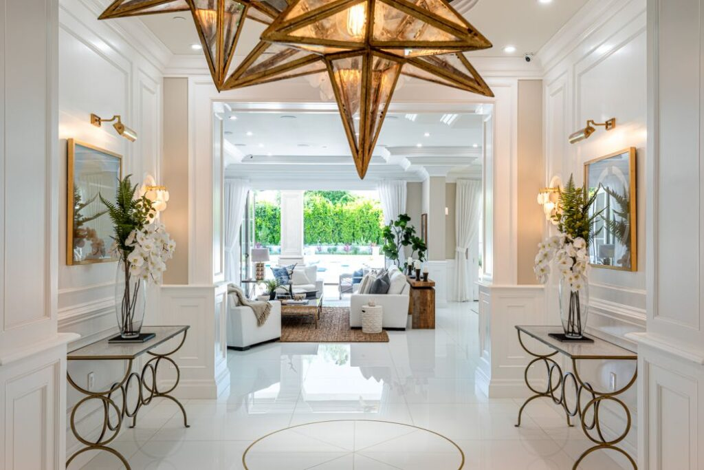 Outstanding Home in Encino with living space over 13,000 Square feet