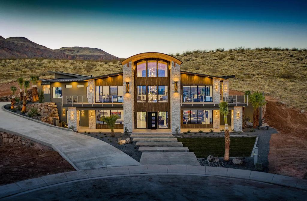 A Brand New High End Home in Utah hits the Market for $3,000,000