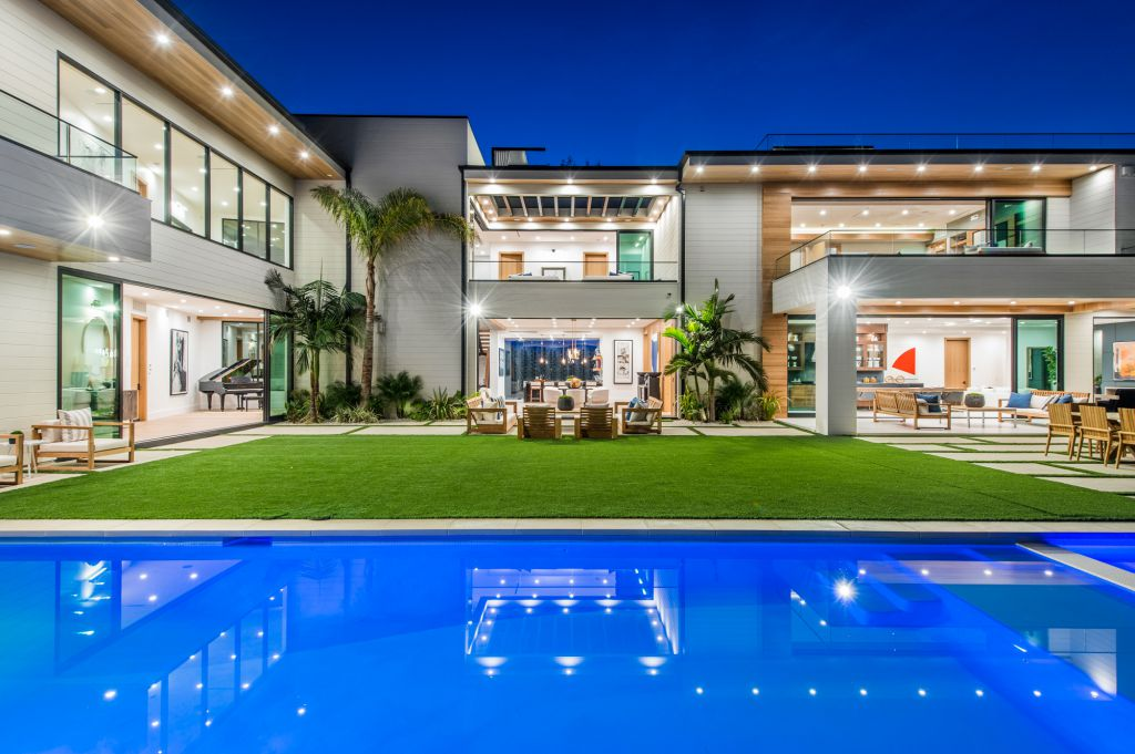 A Fastidiously Crafted House in Encino hits the Market for $13,995,000