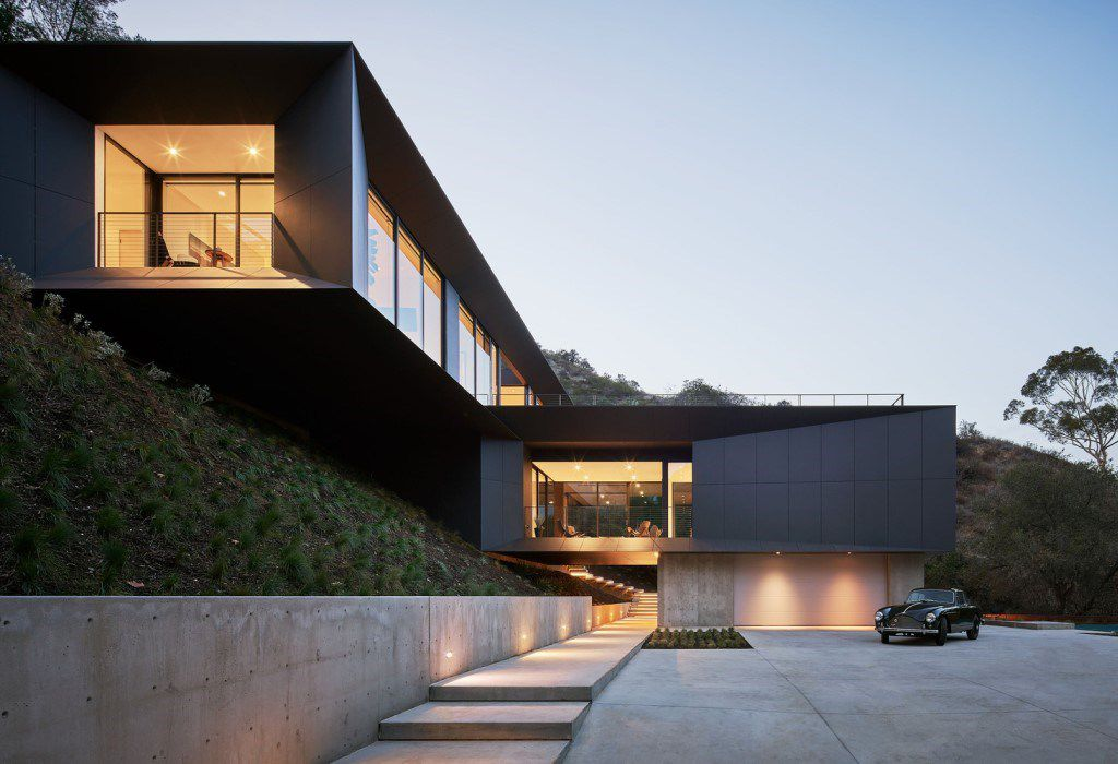 A Nice California Modern House in Los Angeles by Montalba Architects