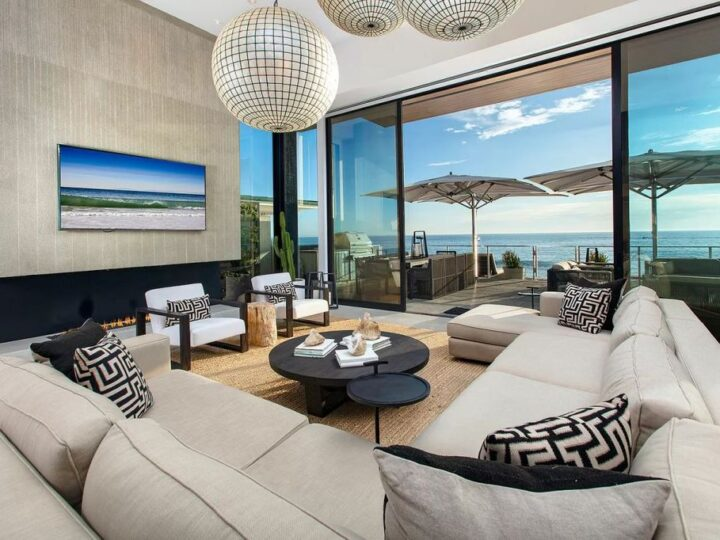 Amazing Ocean Front Masterpiece in California Created by Chris Brandon