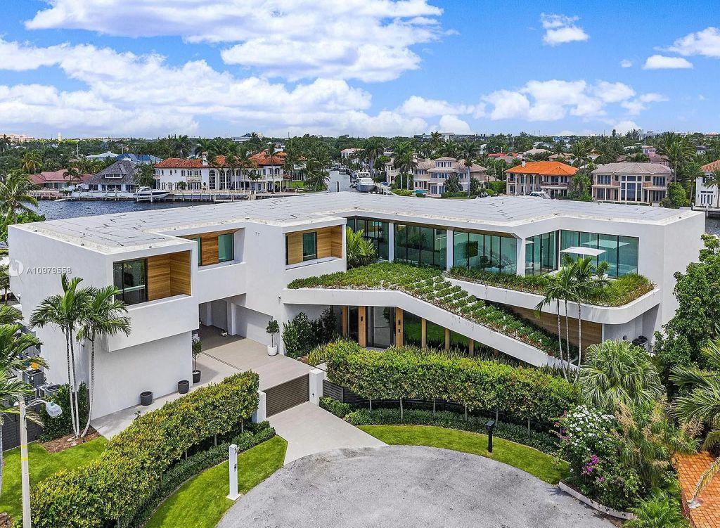 $25,000,000 Boca Raton Mansion on An Oversized Intracoastal Waterway Lot