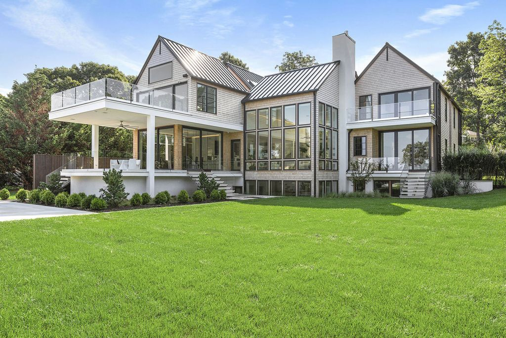 Harmonious and Thoughtful Sag Harbor Home on Market for $9,799,000