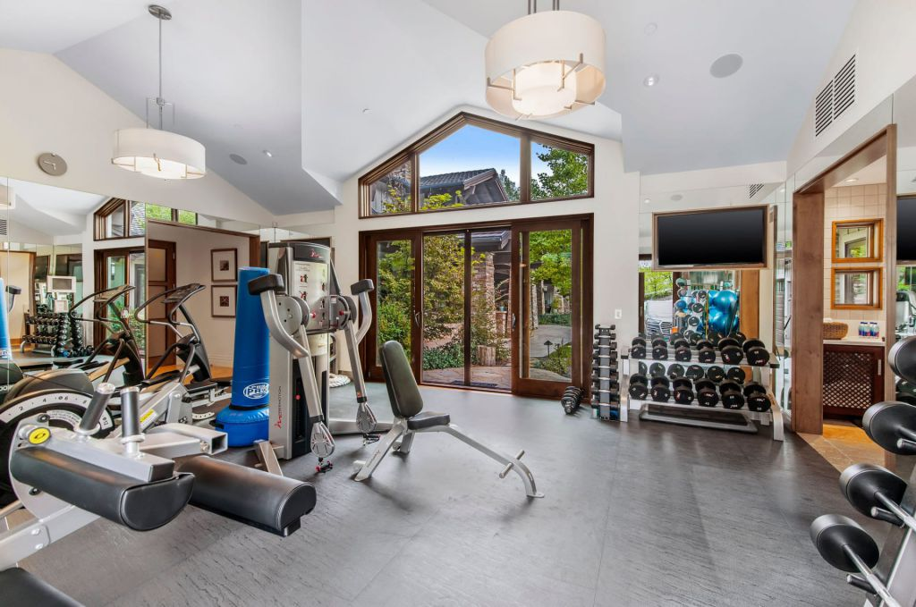 The Hidden Hills Mansion is an architectural masterpiece in the contemporary craftsman style with natural rustic elements now available for sale. This home located at 5824 Jed Smith Rd, Hidden Hills, California; offering 6 bedrooms and 11 bathrooms with over 18,100 square feet of living spaces.