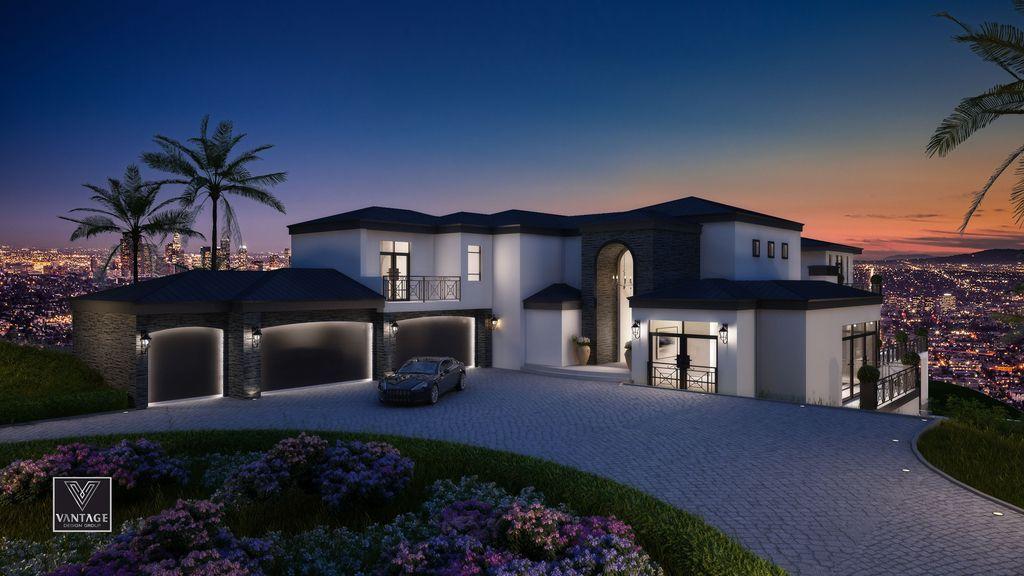 Los Angeles Modern Mansion Design Concept By Vantage Design Group