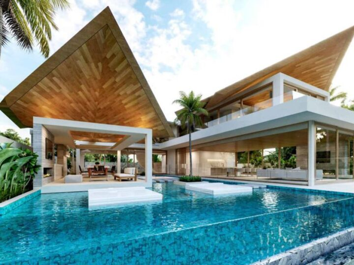 Modern Thai House Concept in Australia by Chris Clout Design