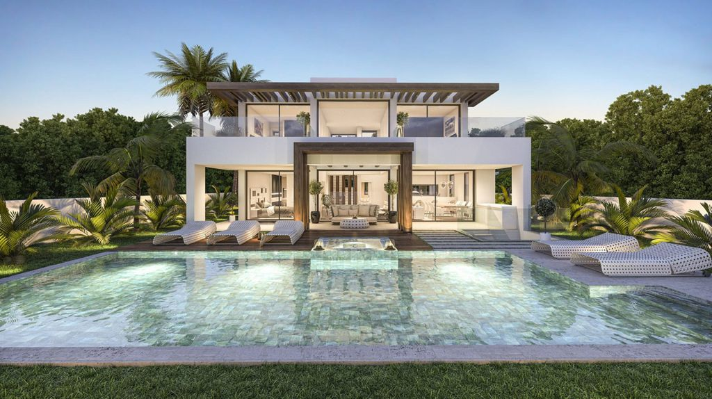 Outstanding Concept Design of Villa Marbesa in Marbella, Spain
