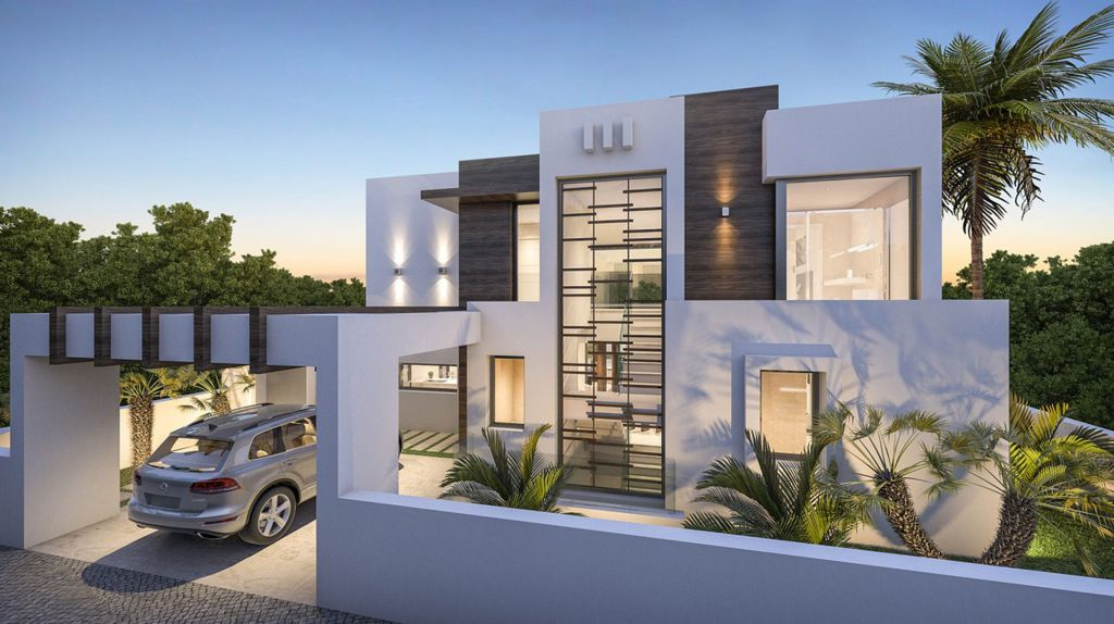 Concept Design of Villa Marbesa is a project located in Marbella, Spain was designed in concept stage by B8 Architecture and Design Studio in Modern style; it offers luxurious modern living in 350 square meter.