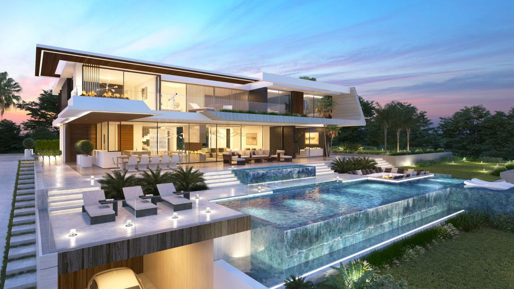 Spectacular Mesoncillos Villa Design Concept by B8 Architecture