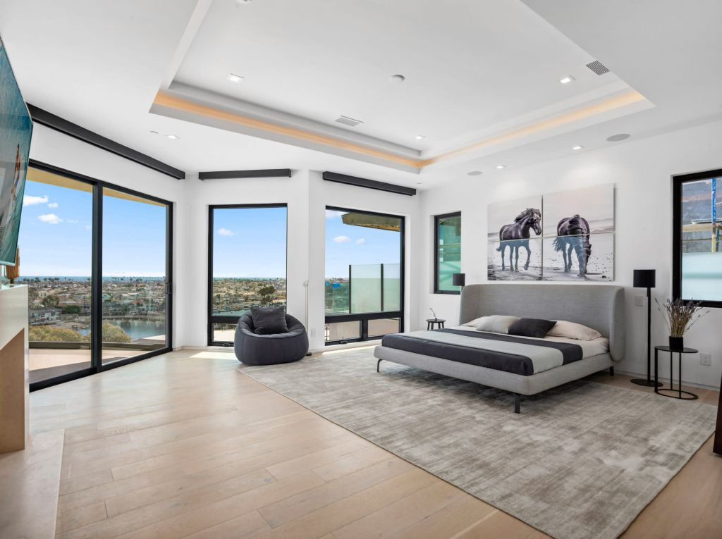 The California House is a stunning example of modern luxury and flawless contemporary design now available for sale. This home located at 1207 Dolphin Ter, Corona Del Mar, California; offering 6 bedrooms and 8 bathrooms with over 7,700 square feet of living spaces.