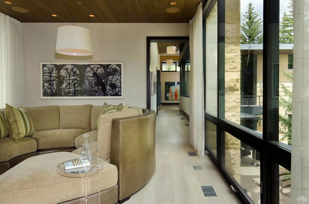 The Home in Vail is a masterpiece of architectural and interior design of voluminous spaces, massive glass now available for sale. This home located at 333 Beaver Dam Rd, Vail, Colorado; offering 6 bedrooms and 10 bathrooms with over 11,000 square feet of living spaces.