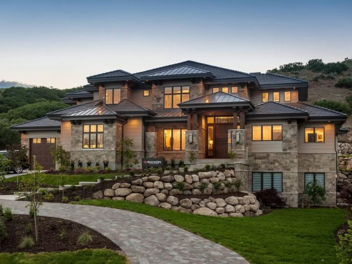 The Alpine Home is a mountain modern estate style has been Upgraded in each and every space now available for sale. This home located at 1333 N Eastview Ln, Alpine, Utah; offering 5 bedrooms and 5 bathrooms with over 8,600 square feet of living spaces.