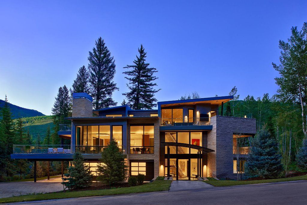 This $39,800,000 Vail Home features Artificial Intelligence Automation System