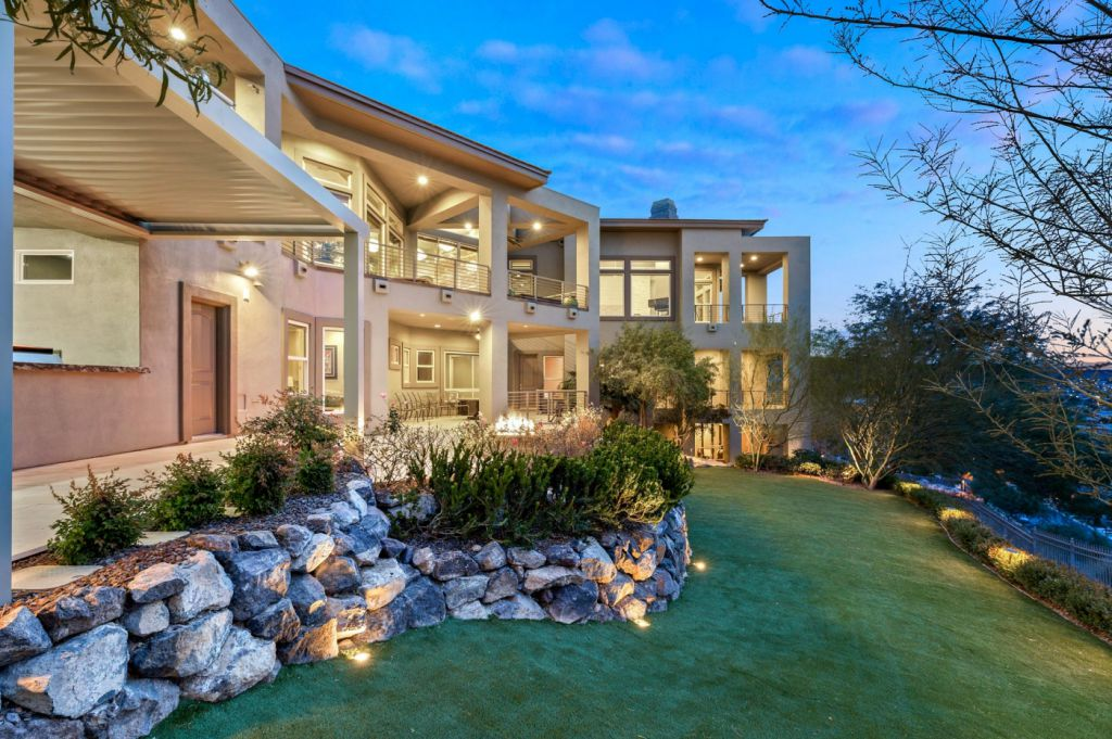 This $4,765,000 Henderson House has The Most Expansive Views