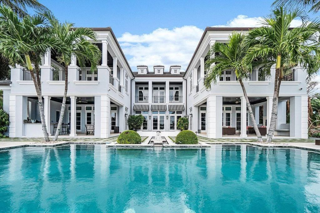 This $9,500,000 Delray Beach Home is Truly Transitional and Timeless Masterpiece
