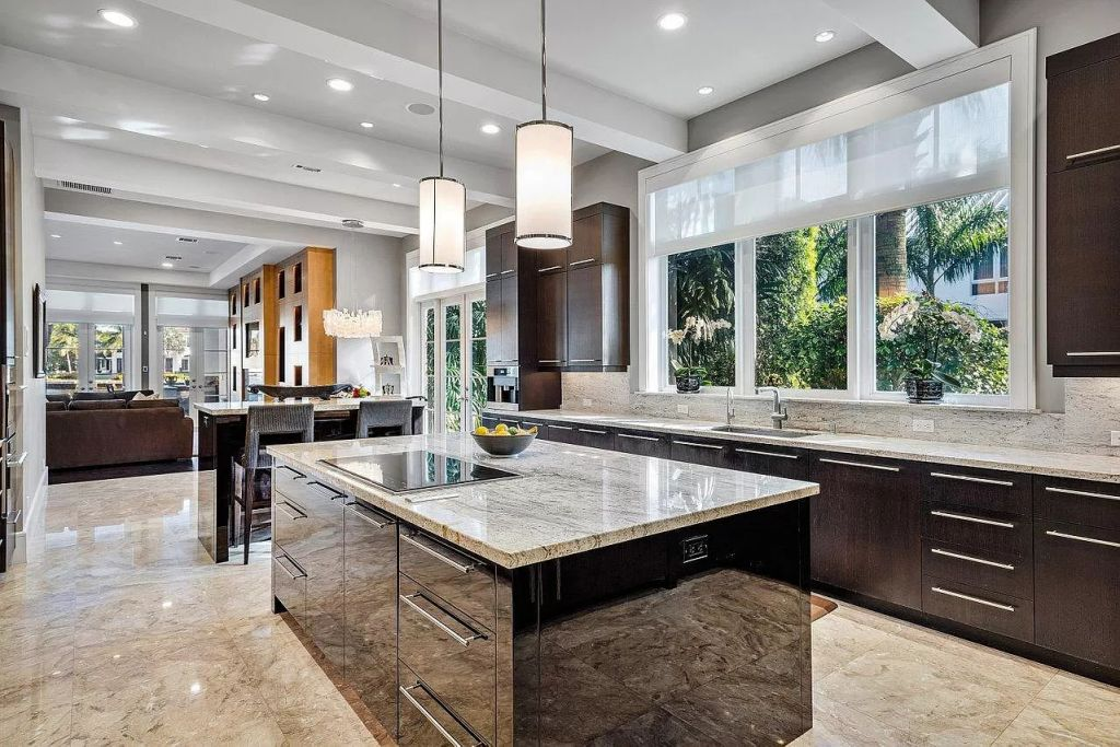 The Delray Beach Home is a luxurious estate in the highly desired neighborhood of Palm Trail now available for sale. This home located at 501 Palm Trl, Delray Beach, Florida; offering 5 bedrooms and 7 bathrooms with over 8,600 square feet of living spaces.
