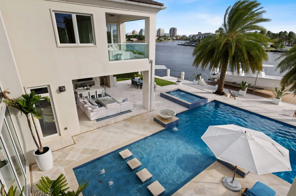 This $9,995,000 Fort Lauderdale House with The Highest Quality Materials