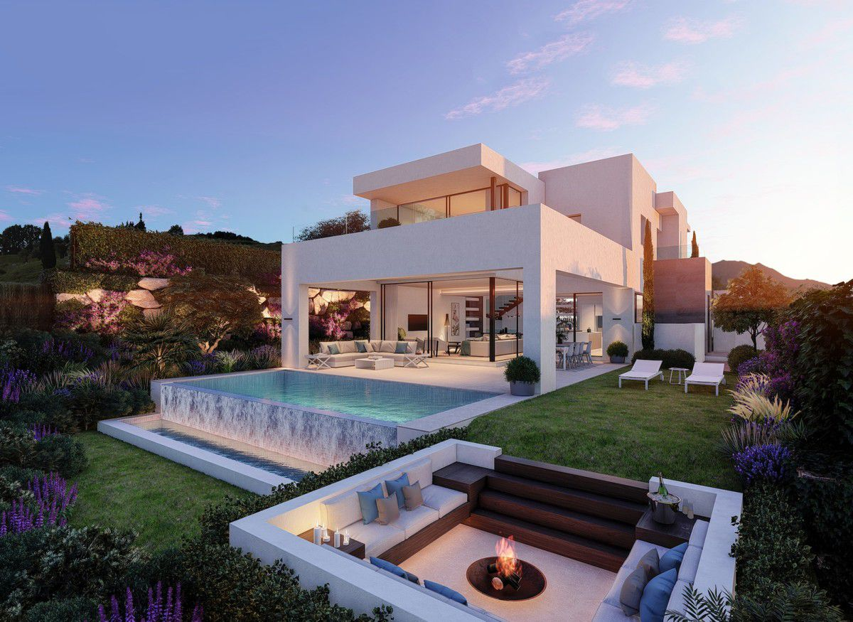 This Villa Concept Inspired by Stylish Living on the Costa del Sol, Spain