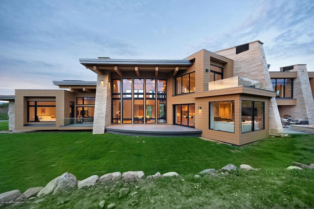 Thoughtfully designed and crafted Aspen Home for Sale at $19,995,000