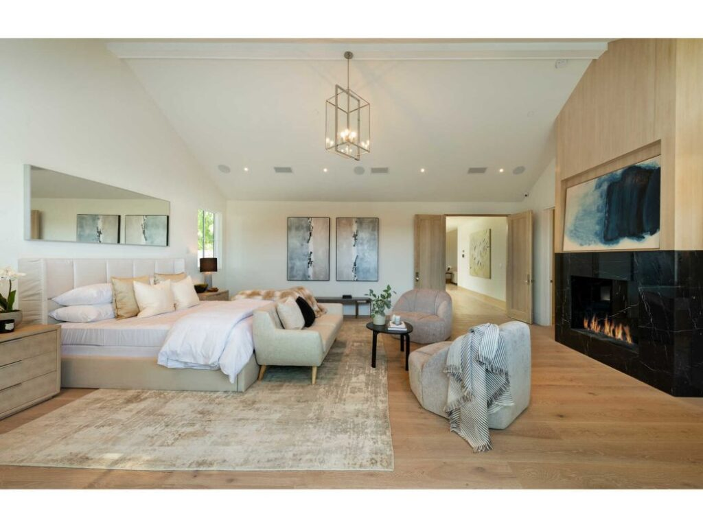 Inside Impressive New Construction in Los Angeles with Farm House style