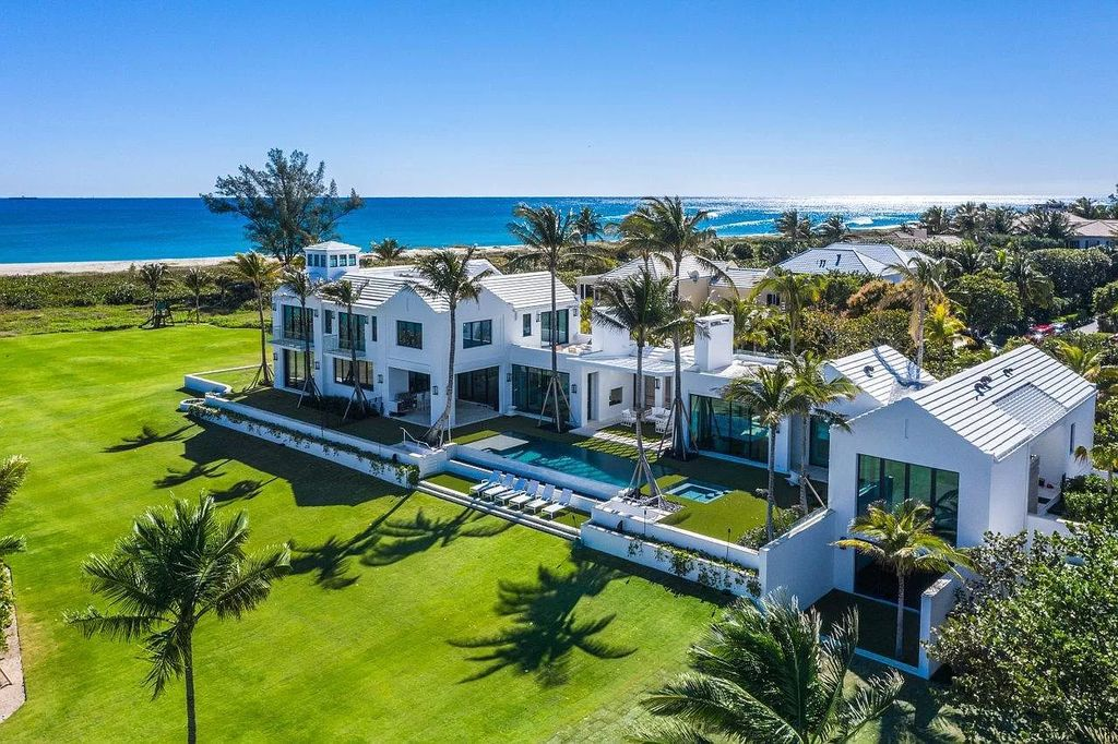 A Direct Oceanfront Palm Beach Mansion hits the Market for $78,500,000