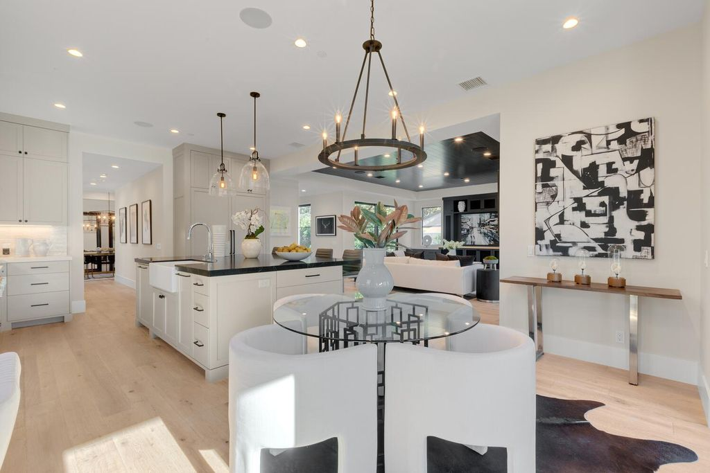 The Culver City Home is a stunning newly constructed compound featuring 2 detached residences now available for sale. This home located at 4135 Van Buren Pl, Culver City, California; offering 7 bedrooms and 9 bathrooms with over 4,800 square feet of living spaces.