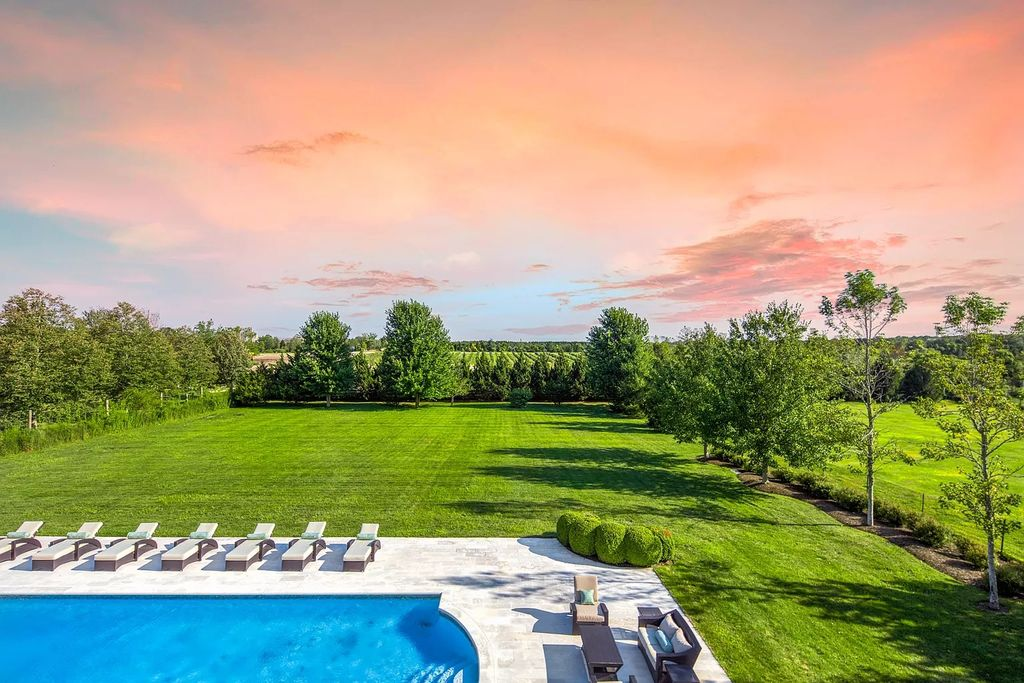 The Hamptons Home is a scenic estate that features 7-bedroom and 7.5 baths in the epicenter of Hamptons luxury real estate now available for sale. This Hamptons home located at 1062 Deerfield Rd, Water Mill, New York; offering 7 bedrooms and 8 bathrooms with over 6,500 square feet of living spaces.