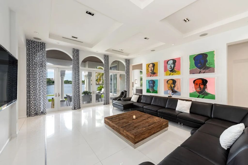 The Waterfront Home is a luxurious home in one of South Florida's most exclusive gated communities now available for sale. This home located at 170 S Is, Golden Beach, Florida; offering 7 bedrooms and 9 bathrooms with over 8,800 square feet of living spaces.