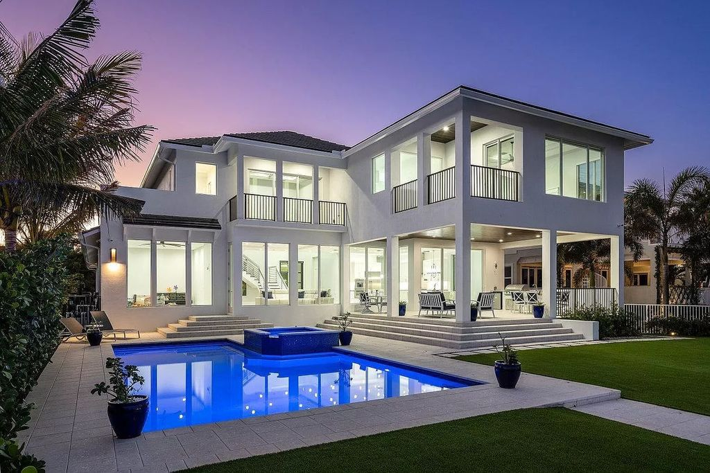 An Incredible Brand New Coastal Contemporary Home in Florida for Sale at $4,499,999