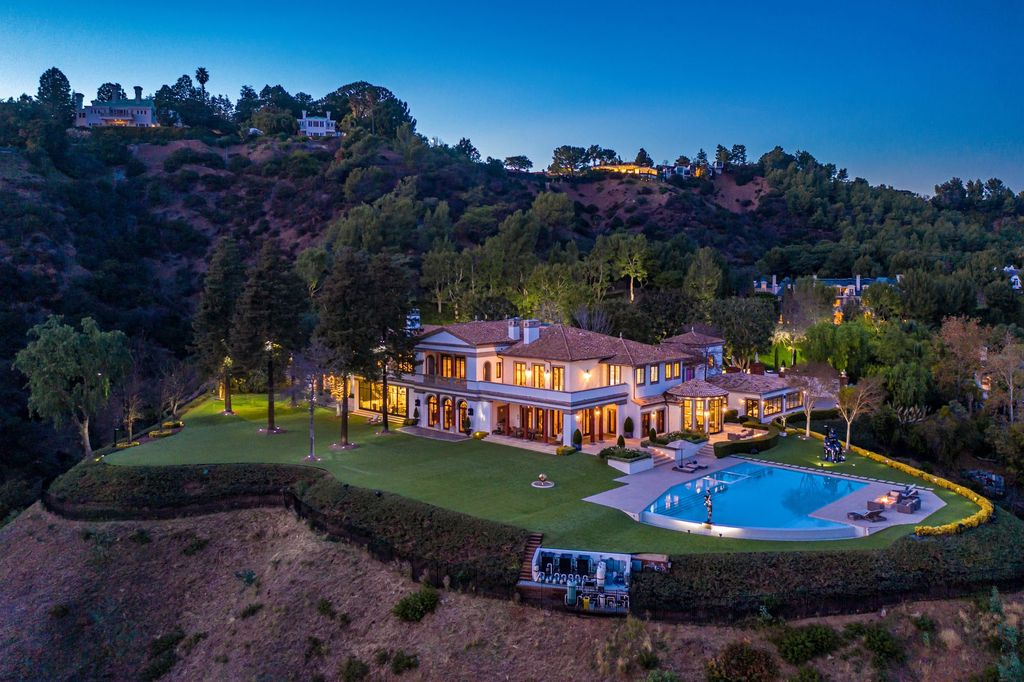Beyond the Luxury! $110,000,000 Contemporary Mediterranean Beverly Hills Mansion