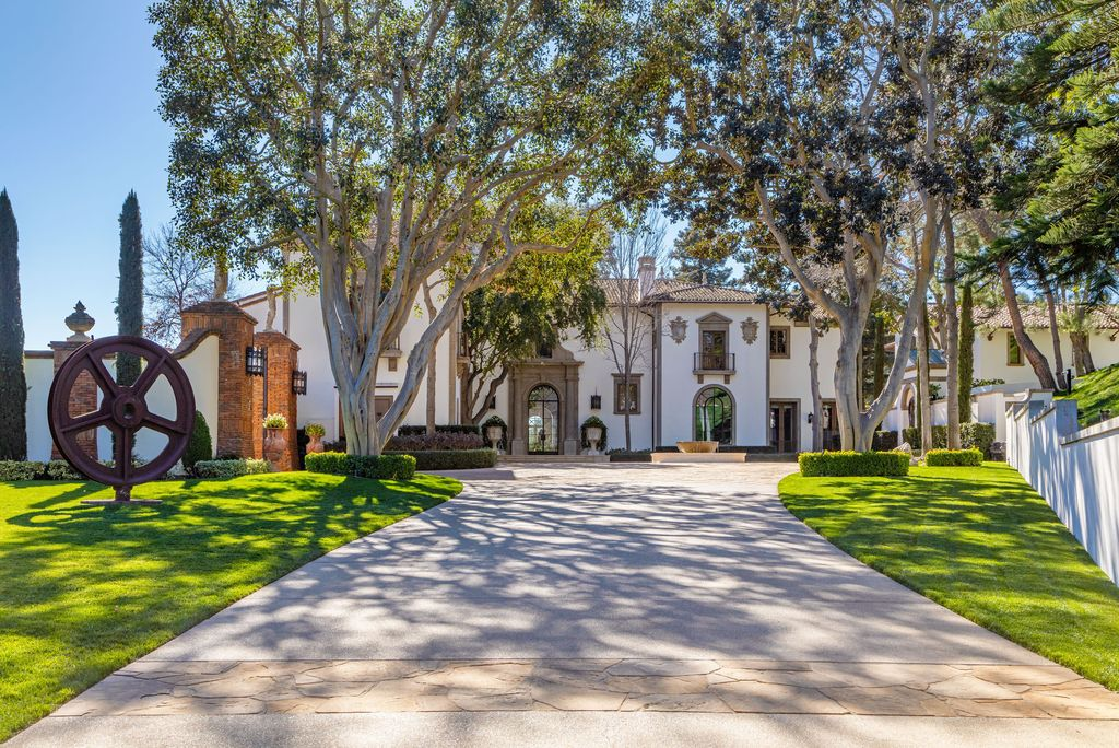 The Beverly Hills Mansion is a Contemporary Mediterranean in the exclusive enclave of North Beverly Park now available for sale. This home located at 30 Beverly Park Ter, Beverly Hills, California; offering 8 bedrooms and 12 bathrooms.
