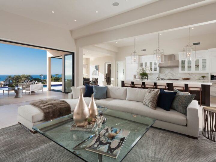 Brand New Custom estate with Pacific ocean view in Dana Point, California
