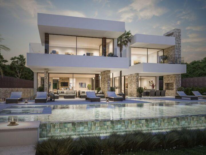 Concept Design of Villa Caleta in Spain by B8 Architecture and Design Studio