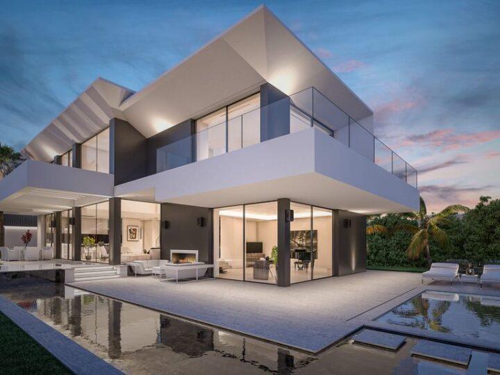 Costa del Sol Villa Concept in Spain by B8 Architecture and Design Studio
