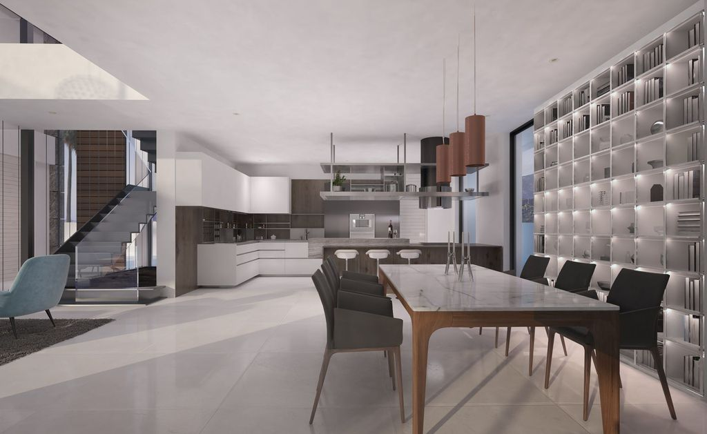 Design Concept of Contemporary Villa is a project located in the complex Velvet, New Golden Mile of Estepona was designed in concept stage in Modern style; it offers luxurious modern living.