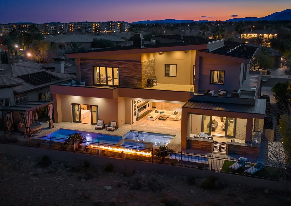 Exceptional Las Vegas Home with Highest Level of Finishes Asking for $3,750,000