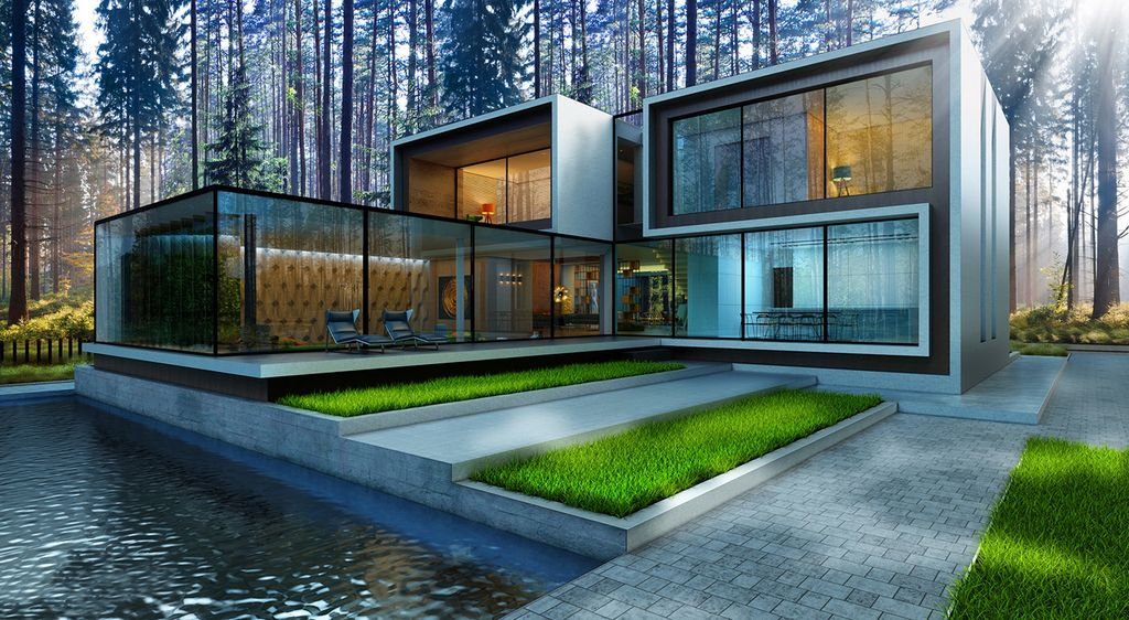 Gorgeous Design Concept of Ukraine Modern House by Alexander Zhidkov