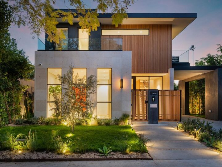 The Home in West Hollywood is a Jae Omar Designed New Construction features indoor-outdoor entertaining spaces now available for sale. This home located at 9024 Rangely Ave, West Hollywood, California; offering 4 bedrooms and 6 bathrooms with over 4,400 square feet of living spaces.