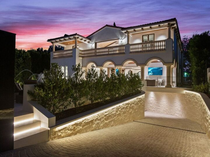 The Mansion in Beverly Hills is a new European-inspired residence showcases masterful craftsmanship now available for sale. This home located at 508 N Alpine Dr, Beverly Hills, California; offering 7 bedrooms and 9 bathrooms with over 9,300 square feet of living spaces.
