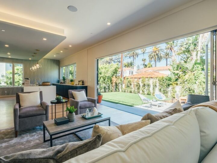 New Luxury Construction in California has three impeccable levels