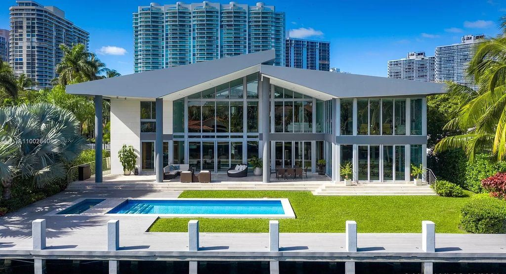 One of A Kind Tropical Modern Home in Golden Beach Asking for $15,500,000