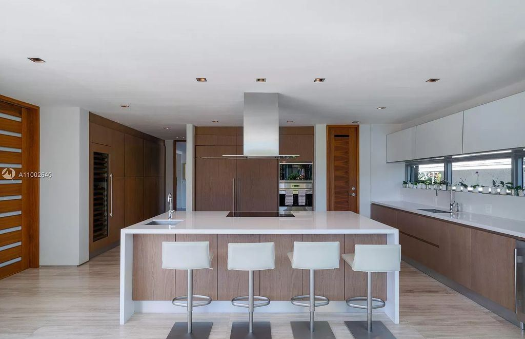 The Home in Golden Beach is one of a kind tropical modern gem built in 2016 now available for sale. This home located at 325 Centre Is, Golden Beach, Florida; offering 8 bedrooms and 11 bathrooms with over 9,000 square feet of living spaces.
