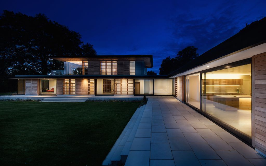 Peaceful Holm Place Residence in United Kingdom by OB Architecture