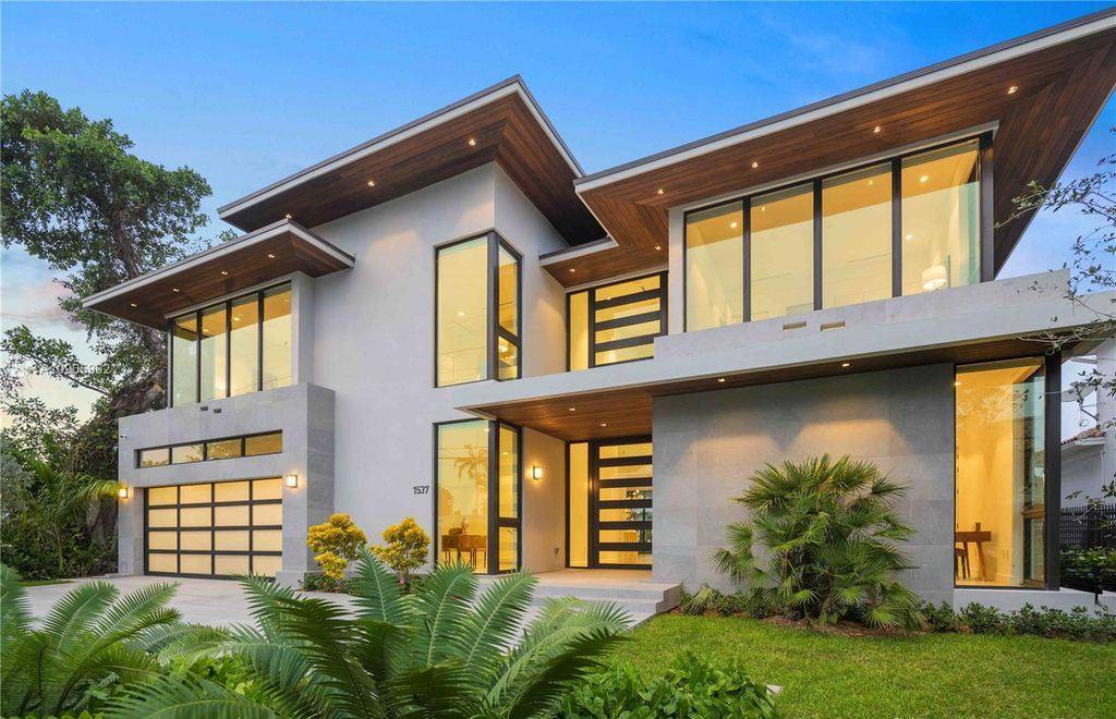 Sophisticated Luxurious Modern Home in Fort Lauderdale Listing for $4,500,000