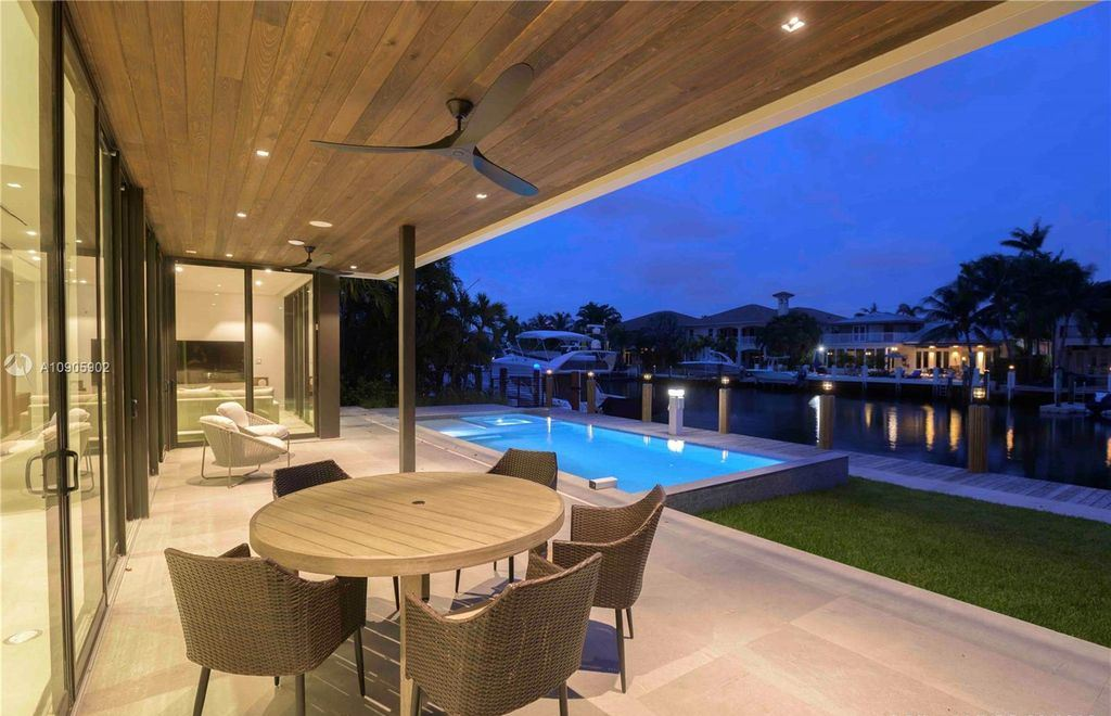 The Home in Fort Lauderdale is a sophisticated luxurious 2 story modern design on 70 foot of deep water now available for sale. This home located at 1537 SE 13th St, Fort Lauderdale, Florida; offering 6 bedrooms and 7 bathrooms with over 4,700 square feet of living spaces.