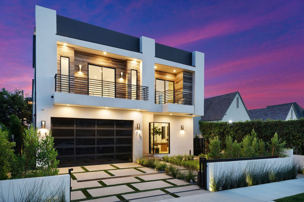 The Contemporary Modern Home in Los Angeles is a striking new construction in an unbeatable location now available for sale. This home located at 7952 W 4th St, Los Angeles, California; offering 5 bedrooms and 6 bathrooms with over 4,800 square feet of living spaces.