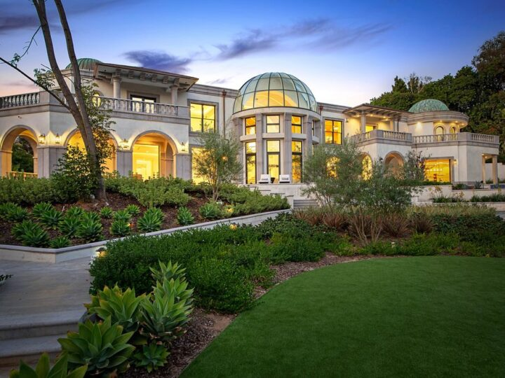 The Mansion in Los Angeles is an European inspired traditional property offers the quintessential country club lifestyle now available for sale. This home located at 10350 Wyton Dr, Los Angeles, California; offering 7 bedrooms and 12 bathrooms with over 19,900 square feet of living spaces.
