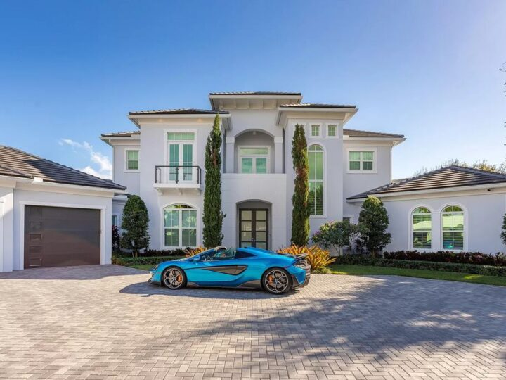 The West Palm Beach House is a luxurious dream home to experience true luxury lifestyle with impressive finishes now available for sale. This home located at 14100 N Miller Dr, West Palm Beach, Florida; offering 5 bedrooms and 8 bathrooms with over 5,100 square feet of living spaces.