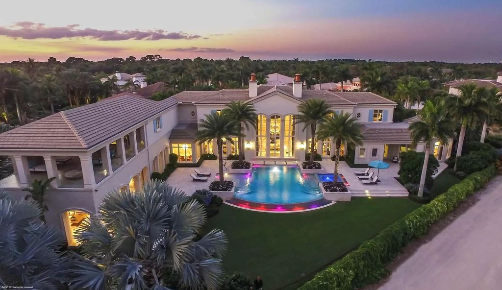 This $9,995,000 Custom Home in Florida has Exceptional Views and More