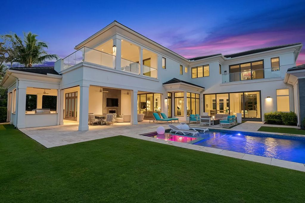 The Home in Palm Beach Gardens is a spectacular modern estate in the exclusive old palm golf club with water feature views now available for sale. This home located at 11768 Calla Lilly Ct, Palm Beach Gardens, Florida; offering 5 bedrooms and 8 bathrooms with over 7,400 square feet of living spaces.